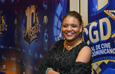 Guetty Felin, directora de cine de Haití