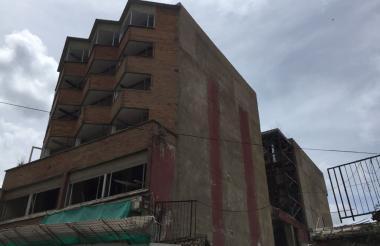 Edificio donde se exhibirá la obra de Saad.