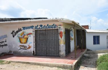 Tienda donde fue asesinado Justo Duarte.