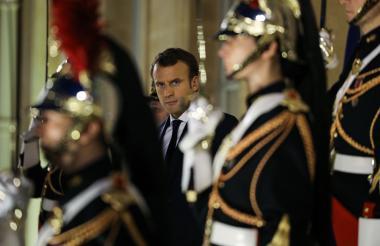 La reunión fue anunciada por Emmanuel Macron en el  G20.