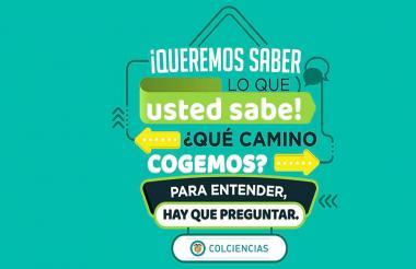 Imagen de la consulta de Colciencias.