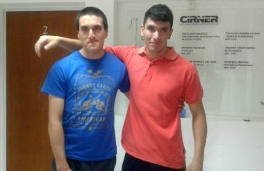 Francisco Ríos y Emanuel Godoy viven en la ciudad argentina de Paraná.