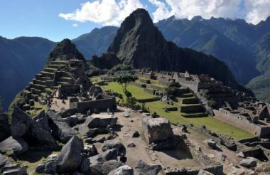 Machu Pichu es uno de los lugares amenazados por el cambio climático.