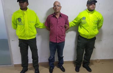 Luis Alberto Campos Barro, capturado.