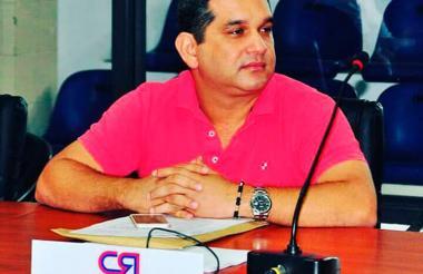 El concejal de Barranquilla, Santiago Árias Fernández.