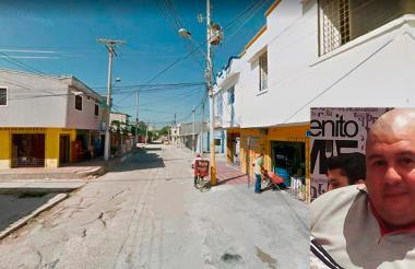 Esquina de la calle 51 con carrera 10 del barrio Ciudadela Metropolitana.