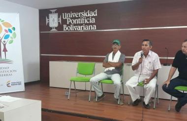 La Universidad Pontificia Bolivariana y la Unidad de Restitución aunaron esfuerzos para visibilizar el tema del retorno en Córdoba.