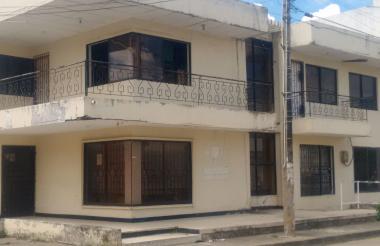 La sede abandonada de la Procuraduría en Córdoba está ubicada en la calle 23 con carrera 8, centro de Montería.