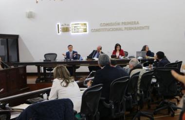 Comisión I del Senado.