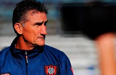 El técnico argentino Edgardo Bauza.