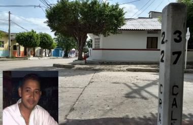 Deider Rafael Cardona Mejía de 31 años, victima fatal del accidente.