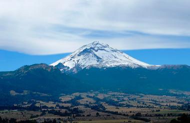 El volcán inactivo Citlaltépetl, considerado la cima más alta de México.