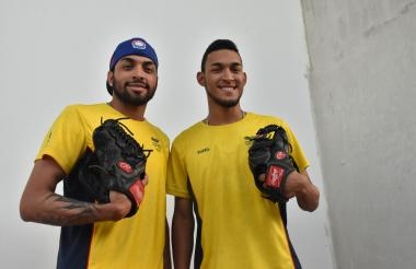Kevin y Luis Escorcia .