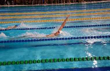 El nadador caleño Jonathan David Gómez Noriega.