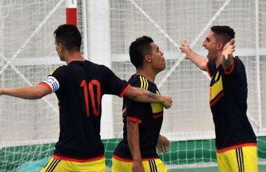 La Selección Colombia de Futsal.