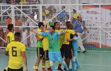 La Selección Colombia de fútbol sala ratificó su gran nivel en los Juegos Bolivarianos de Santa Marta 2017 y conquistó este sábado la medalla de oro este sábado.