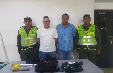 Reiner Alberto Camargo Yepez y Raúl Jesús Gohete Pedroza.