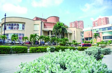 Vista panorámica del centro comercial Buenavista de Barranquilla.