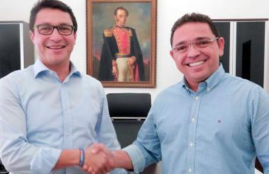 Carlos Caicedo y Rafael Martínez