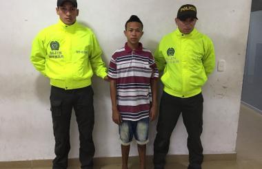 Juan Marimón Daza, capturado.