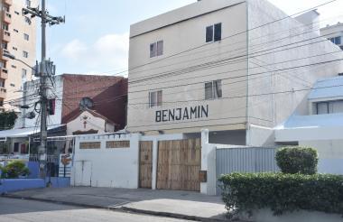 Casa Hotel Benjamín.