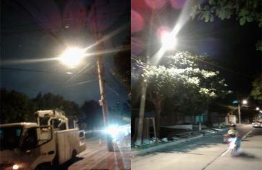 Luminarias en servicio tras la gestión de Alumbrado Público.