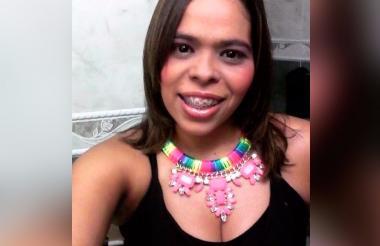 Katherin Moreno Castillo, de 33 años, víctima fatal del accidente de este miércoles.