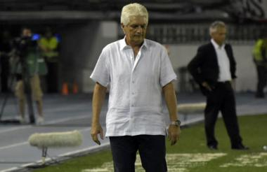 Julio Avelino Comesaña, DT de Junior.