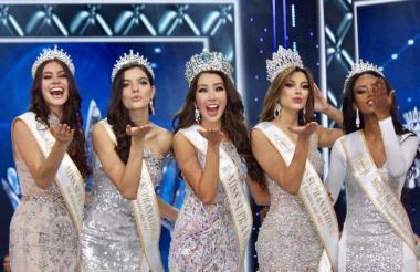 Las finalistas del Miss Supranational 2017