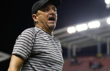 Richard Parra, técnico colombiano del Chorrillo FC.