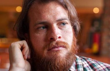El escritor español Alejandro Morellón, quien estará el otro año en Barranquilla.