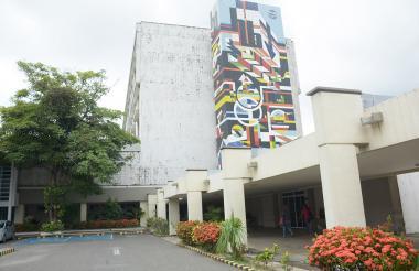 Fachada de la sede del Hospital Cari ESE , ubicada en el barrio Los Andes.