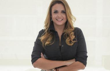 María Claudia García, especialista en etiqueta y protocolo empresarial.