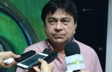 Robinson Pérez, subsecretario de rentas del departamento.