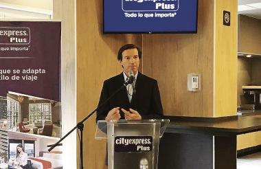 Luis Barrios, CEO de la cadena City Express.