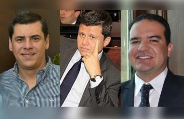 Julio Elías Vidal, Ñoño Elías y Eduardo José Tous.