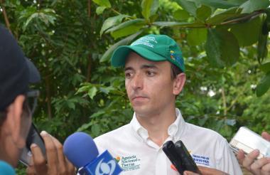 Miguel Samper Strouss, director general de la Agencia Nacional de Tierras.