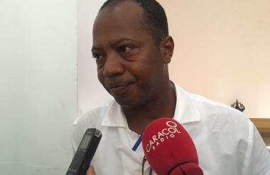 Wilman Herrera Imitola, líder social.