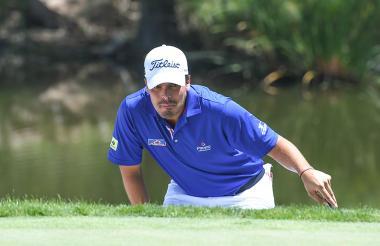 El golfista barranquillero Ricardo 'Pipo' Celia.