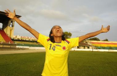 Kelis Peduzine, atlanticense que ha hecho parte de selecciones Colombia en varias competencias internacionales, incluido un Mundial de mayores, siempre ha soñado con jugar en el Junior femenino.