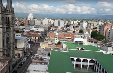 Panorámica de Salta, Argentina.