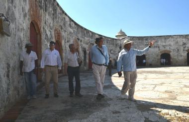 Visita de la misión al patrimonio de los Fuertes de Bocachica, Cartagena.