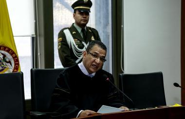 Magistrado Gustavo Malo.