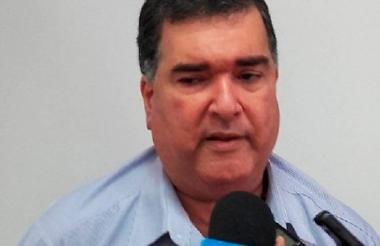 José Elías Chams Chams, alcalde de esa población del Atlántico.