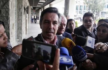 """Rodrigo Prieto, exgerente de la campaña """"Santos presidente 2014""""."""