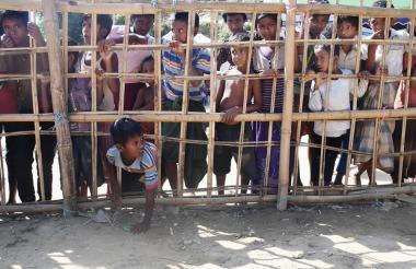 Campamento de refugiados de Thankhali, en el distrito de Ukhia de Bangladesh, en el pasado noviembre.