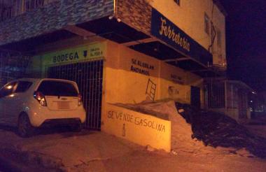 Venta combustibles en la urbanización Villas de San Pablo.