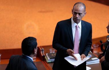 El senador suspendido Martín Emilio Morales Diz.