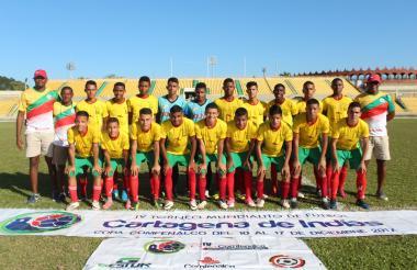 La selección Bolívar sub 16 acabó invicta en el certamen.