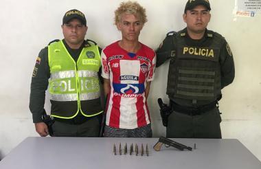Julio César Umaña Rivera  conocido como 'Guadaña', fue puesto a disposición de la Fiscalía.